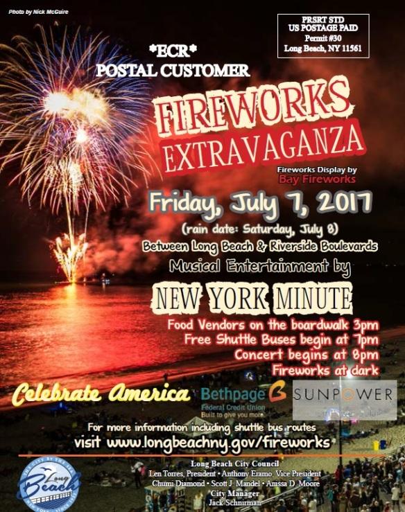 LB Fireworks Show 2017